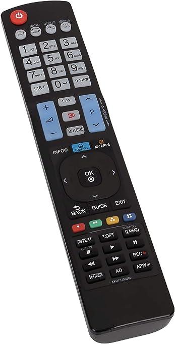 ALLIMITY AKB73756502 Reemplazo de Control Remoto para LG LED LCD 3D TV: Amazon.es: Electrónica
