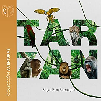 Amazon.com: Tarzán de los monos [Tarzan of the Apes] (Audible Audio ...