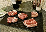 Defrosting Tray Fast Thawing Plate - Miracle The Safest Way to Defrost Meat or Frozen Food Beef Chicken Quickly in Minutes Thawed Fresh Meat Dramatically Speeds It Up No battery No Microwave