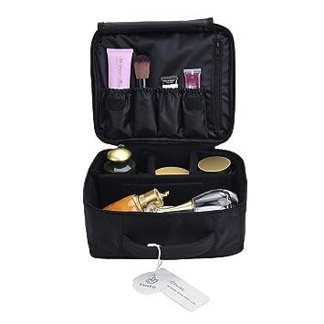 f08dfa3d69bf Amazon.com   FlowFly Portable Makeup Train Case