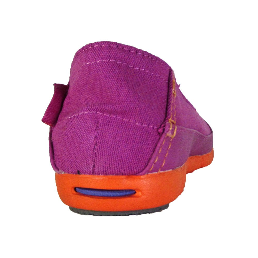 Crocs Crocs Crocs Damen Strech Sole Flat W DTC Peep-Toe Vibrant Violet / Orange 409c82