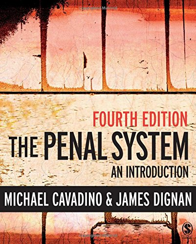 The Penal System: An Introduction