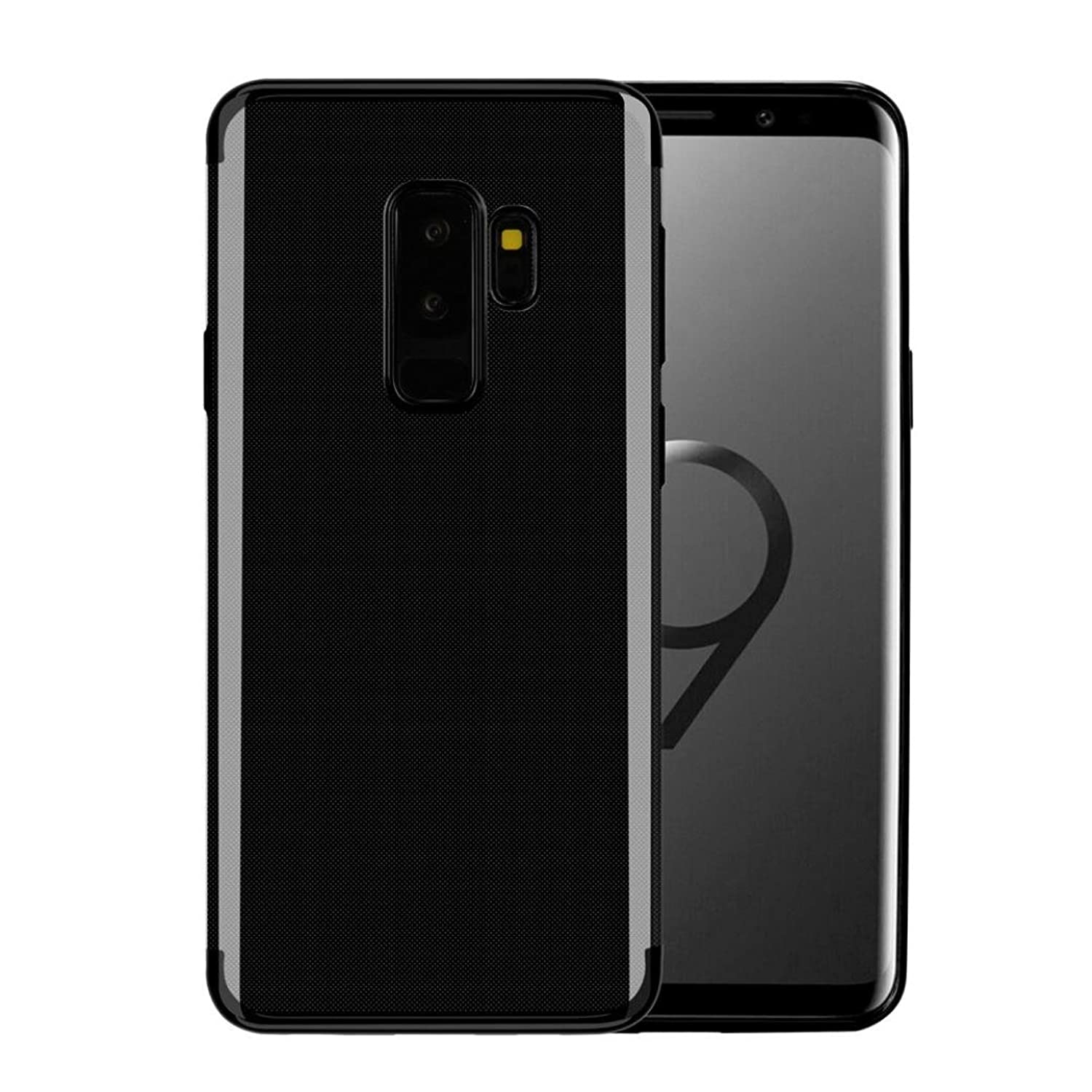 Plating Flexible Silicone Back CaseLuxury Ultra-Thin Smoothly Touch Soft Case Cover For Samsung Galaxy S9/S9 Plus