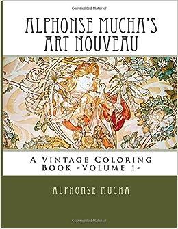 Amazon.com: Alphonse Mucha's Art Nouveau: A Vintage