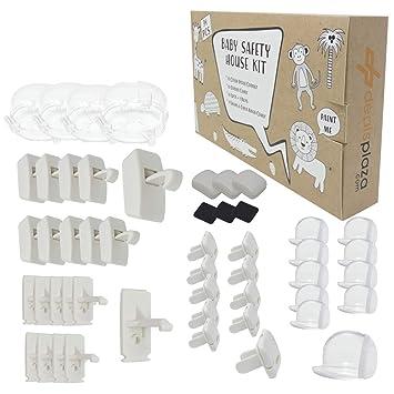 Safety 1St Cabinet Flex Locks Baby Child Door Kids Toddler Drawer Cupboard 2 Pk