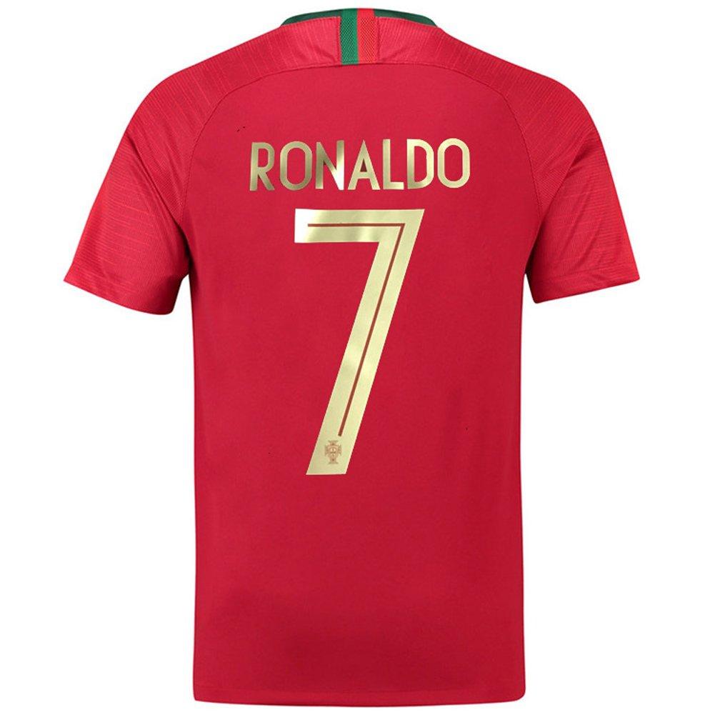official photos 537f8 08cd0 Portugal #7 National Team 2018 Ronaldo Home Stadium Mens Soccer Shirt  Jersey Color Red
