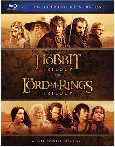 Middle-earth Theatrical Col (6pk) (BD) [Blu-ray]