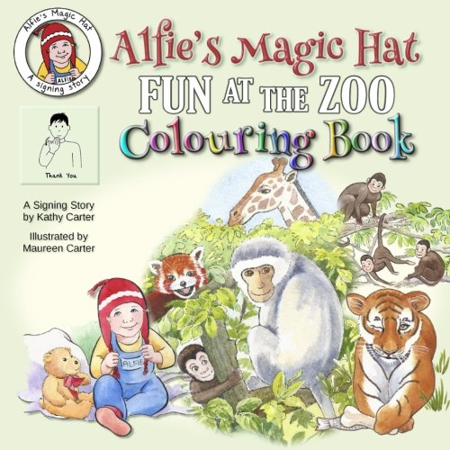 Read Online Alfie's Magic Hat - Fun at the Zoo Colouring Book ebook