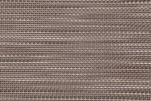 Phifertex Wicker Weave Watercolor Tweed Woven Vinyl Mesh Sling Chair Outdoor Fabric in Pearly