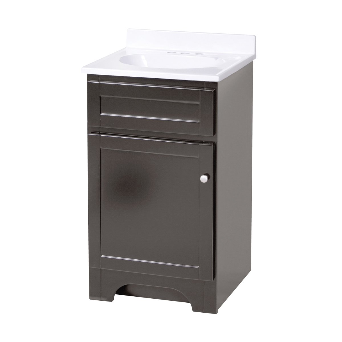 Foremost COEAT1816 Columbia 18 Inch Espresso Bath Vanity Combo   Bathroom  Vanities   Amazon.com