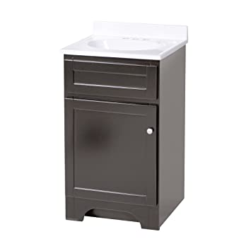 Foremost Coeat1816 Columbia 18 Inch Espresso Bath Vanity Combo