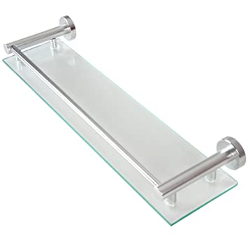 Wand-Glasablage Badezimmerablage Ablage Wandablage für das ...