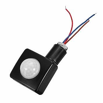 Ils - 120 de Seguridad PIR Detector infrarrojo de luz LED del Sensor de Movimiento de Pared Exterior Montado: Amazon.es: Electrónica
