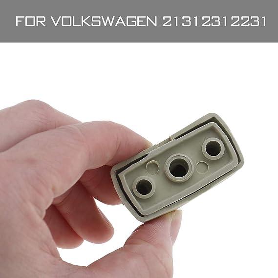 2 pi/èces Clip Int/érieur Pare-Soleil Compatible pour Voiture Transporter T4 T5 T5.1 T6