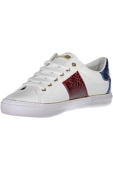 Complementos Guess Y Sneakers Amazon es Zapatos Blancas Usa wFxBCFS8q