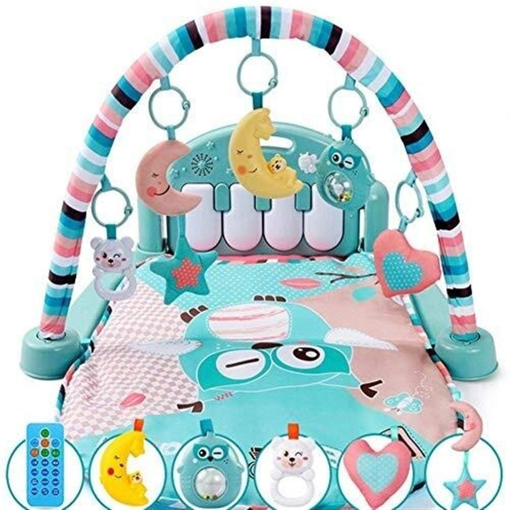 ETERLY Baby Multi-Function Piano Fitness Rack Baby Game Blanket Crawling Mat Newborn Baby Toy Gift Box Set by ETERLY
