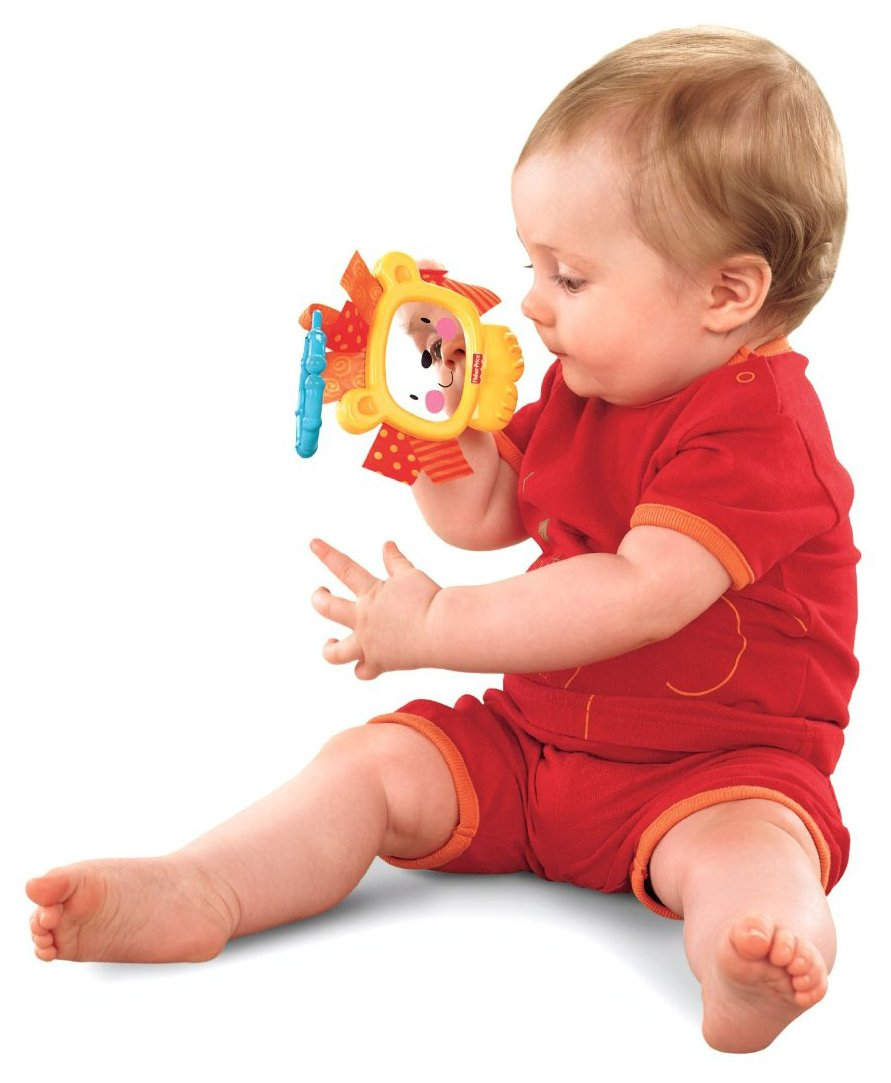 Hochet lion miroir Fisher Price 0-18 mois Fisher-Price X2915