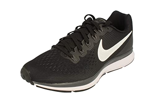 offer discounts pretty cheap official images Nike Air Zoom Pegasus 34 Mens Running Trainers 880555 Sneakers Shoes (UK 11  US 12 EU 46, Black White Dark Grey 001)
