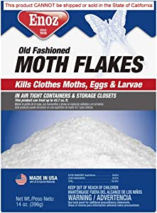Enoz Old Fashioned Moth Flakes, 14 Ounce
