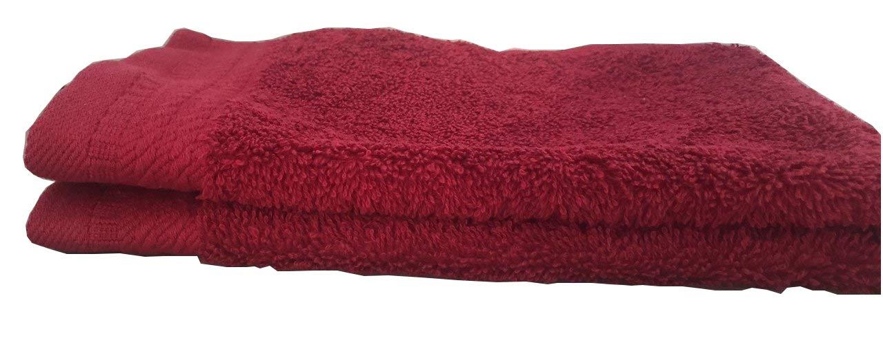 ajuar spugna/ /Asciugamano da doccia 600/gr 100/% cotone pettinato colore bordeaux 70/x 140/cm