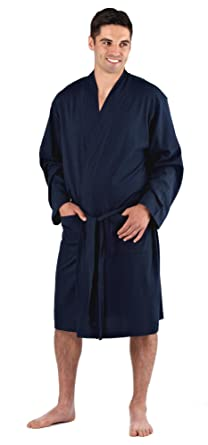 Mens Easy Care Cotton Jersey Summer Robe Dressing Gown Amazonco