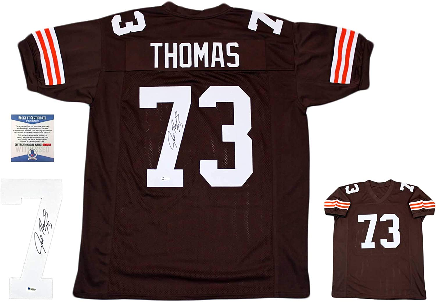 Joe Thomas Autographed Signed Jersey - TB - Beckett Authentic at ...