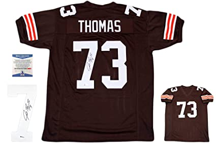 low priced bd359 a082b Joe Thomas Autographed Signed Jersey - TB - Beckett ...