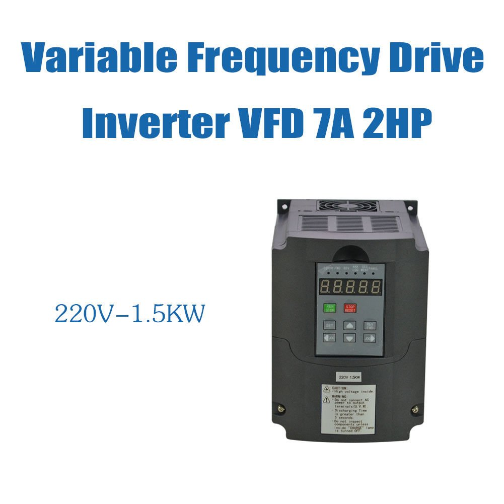 15kw 220v 2hp 7a Vsd Vfd Variable Frequency Drive Single Phase Circuit Diagram Inverter Industrial Scientific