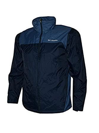 2a5eb7d4d9a Columbia Sportswear Men s Raincreek Falls Waterproof Jacket Collegiate  Navy Blue Heron