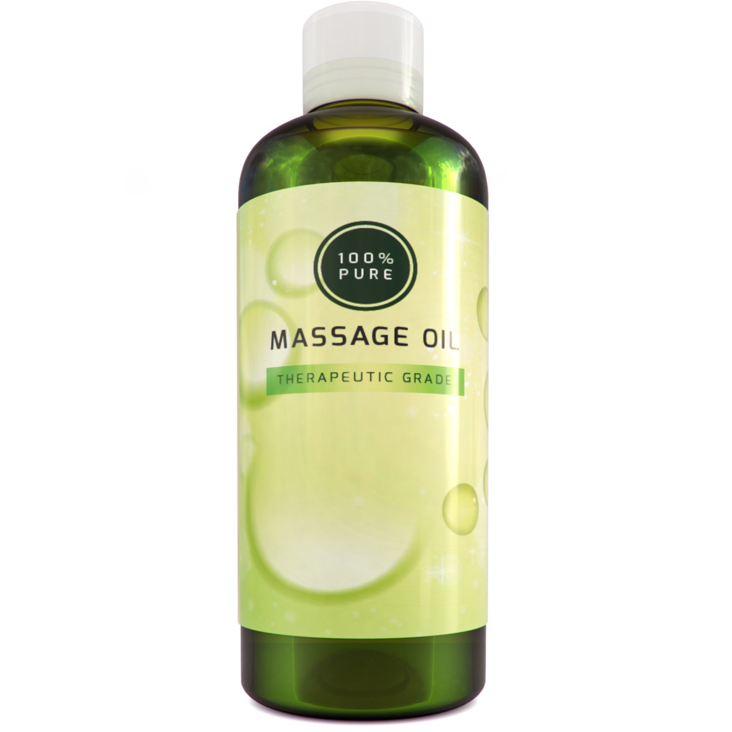 100% Pure Coconut Oil for Skin Spa Massage Unscented Carrier Oil and Sensual Massage Therapy Relaxing Formula for Dry Sensitive Skin Soothing Natural Cold Pressed Healing Body Oil for Men and Women
