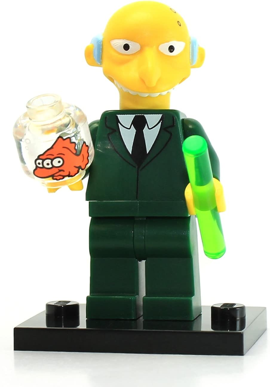 Lego 71005 The Simpson Series Mr. Burns Simpson Character Minifigures