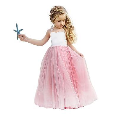 e8cf9a9acb Vandot Niñas Princesa Dama de Honor Fiesta de Boda Vestido