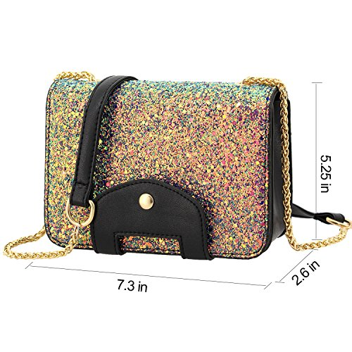 Bag Bag Colourful Body Women Paillette Cross Boutique Handbag Pink Evening Shiny Sequined Novias Shoulder 6O8PqB