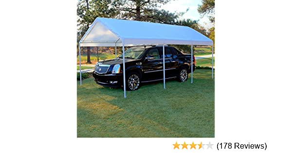 10' X 20' Frame Canopy Replacement Cover (White)