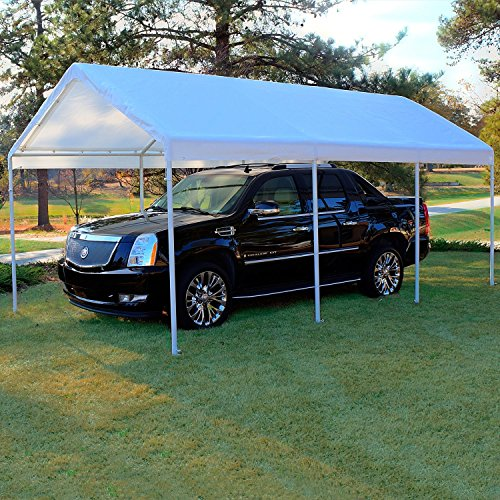 - 10' X 20' Frame Canopy Replacement Cover (White)