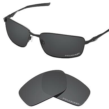 a4fb591ef20 Tintart Performance Lenses Compatible with Oakley Splinter Polarized Etched-Carbon  Black