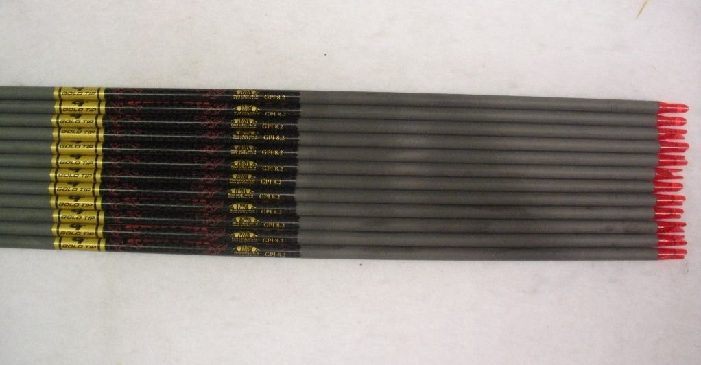 Gold Tip Expedition Hunter 7595 Carbon Arrow Shafts 2Dz./24 Shafts