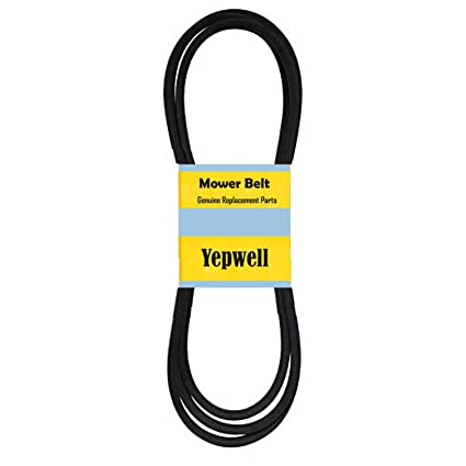 YepWell Lawn Mower Deck Kevlar Belt Replacement For John Deere M126536 1 2 Inch X 114 Inch