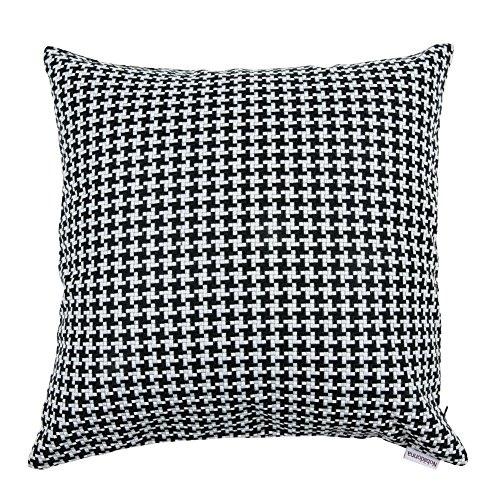 Nobildonna Pillow Cover 100 Polyester Square Black And