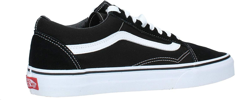 Vans Old Skool Classic Suede/Canvas, Baskets Basses Mixte Adulte Black White