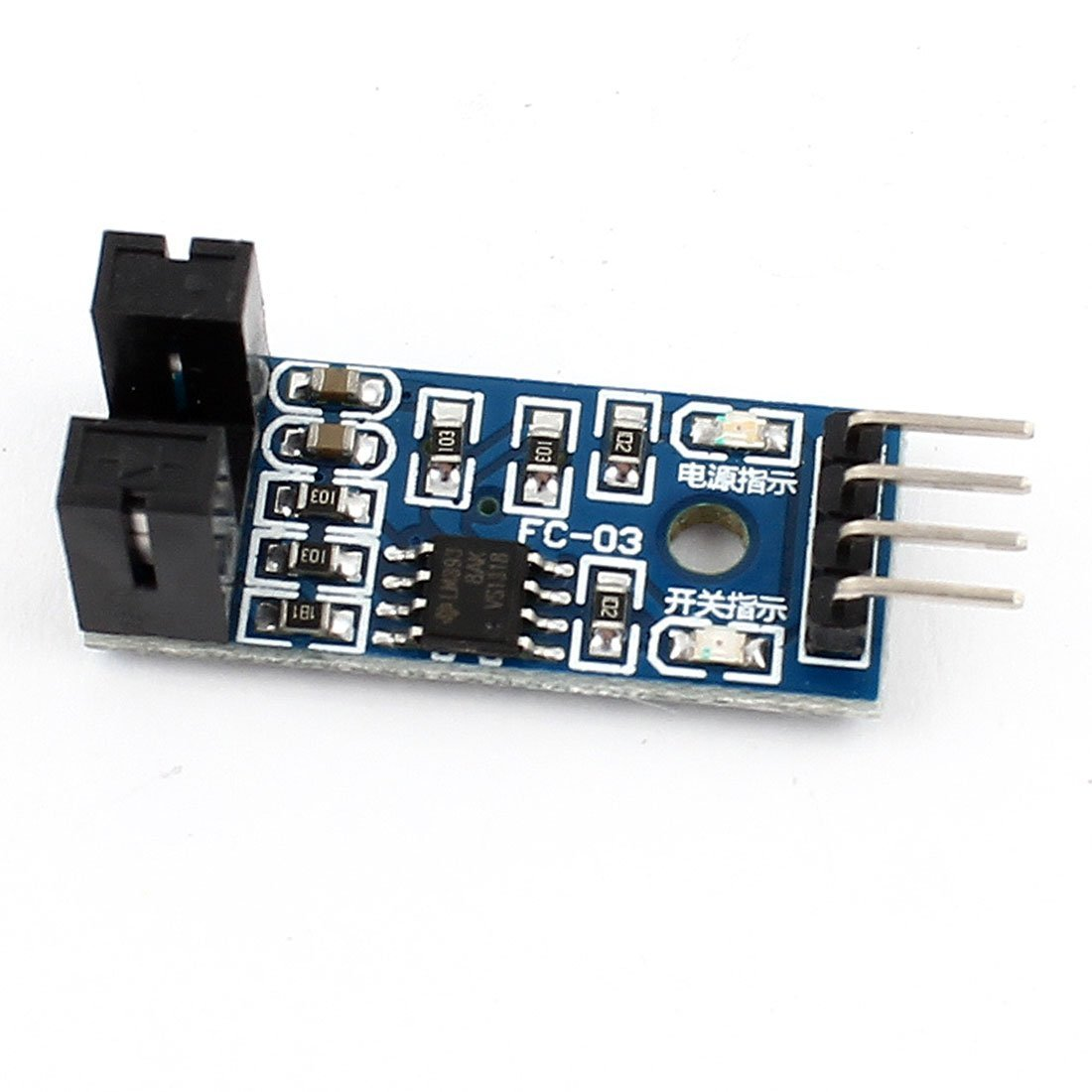 Rees52 Lm393 Chip 1ch Optocoupler Motor Speed Measuring Counter Infrared Proximity Switch Sensor Circuit Using A Voltage Module Industrial Scientific