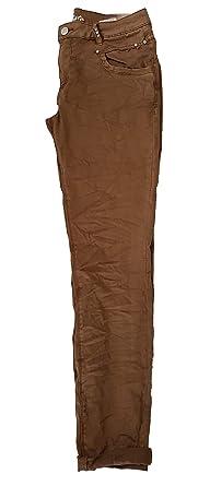 d487804e0597 Buena Vista Damen Jeans Anna C Stretch Twill Brown Wash S  Amazon.de ...