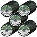 50 PACK CUT OFF WHEELS 4 1/2 x 1/16 x 7/8 For Cutting All Steel and Ferrous Metals.