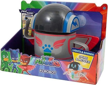 Giochi Preziosi PJ Masks - Robot de Cocina con Luces, Sonidos y Movimientos: Amazon.es: Juguetes y juegos