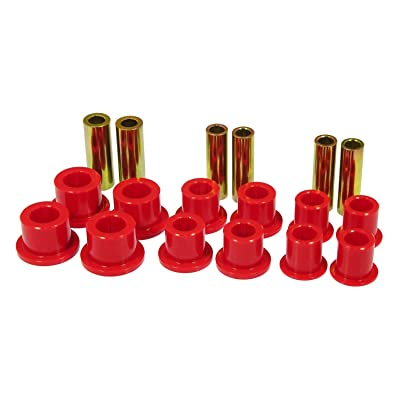 Prothane 6-1025 Red Front Spring and Shackle Bushing Kit: Automotive