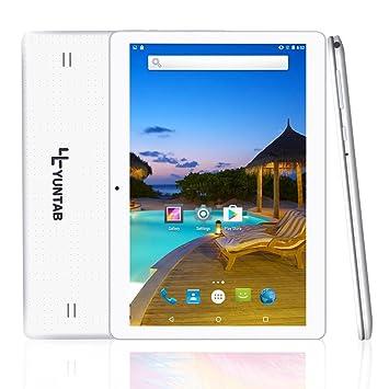 YUNTAB 10 1 inch Tablet PC with Dual SIM Card Slot,Android 5 1, unlocked  Phablet Support 2G/3G/Wifi/Bluetooth/OTG/GPS,1GB RAM+16GB