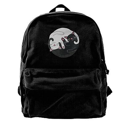 Women's Cat Ying Yang Cute Backpack