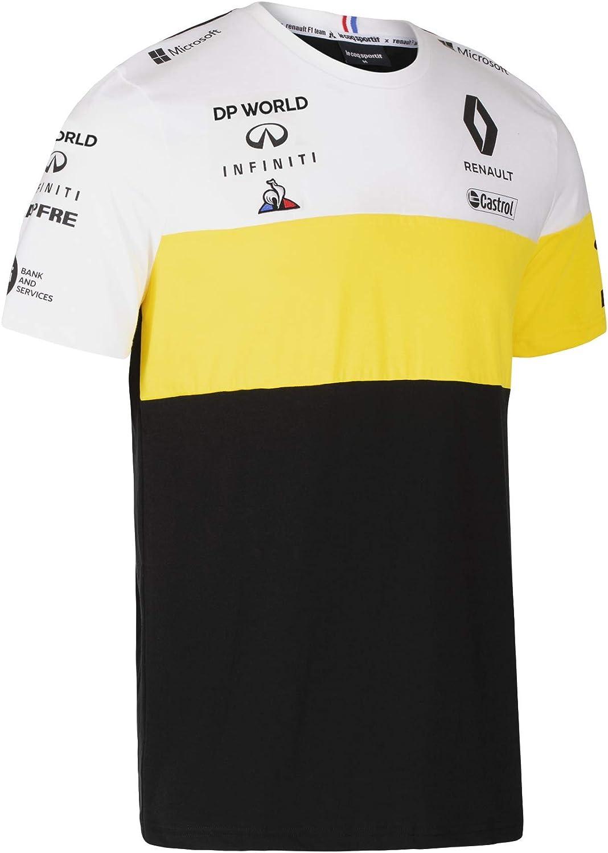 Renault F1 2020 Mens Team Daniel Ricciardo T-Shirt Black