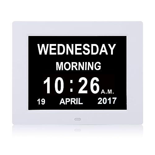 Dayclox The Original Memory Loss Digital Calendar Day
