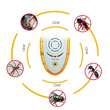 Sensor & Detector Hearty High Quality Ultrasonic Electronic Pest Repeller Indoor For Lustrating Mouse Bug Mosquito Insect